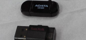 Review USB OTG Flash Drive SanDisk 16GB dan AData DashDrive Durable 32GB