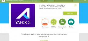 Yahoo Aviate, Asisten Pribadimu di Android