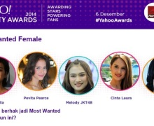 Raisa, Pevita Pearce, dan Melody JKT48 Jadi Nomine di Yahoo! Celebrity Awards 2014