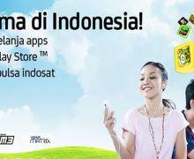 Asik, Beli Apps Google Play Pakai Pulsa Indosat