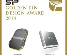 Dua Produk Silicon Power Menangi Golden Pin Design Award 2014