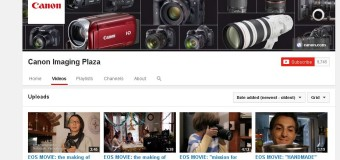 Inspirasi Foto dan Video Digital di Canon Imaging Plaza