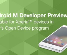 Sony Sediakan Android M Developer Preview