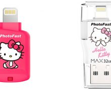 Review PhotoFast CR-8800 Hello Kitty dan PhotoFast i-FlashDrive Max Hello Kitty