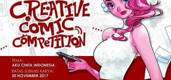 "Dorong Kreativitas Komikus, Datascrip Gelar ""Datascrip Creative Comic Competition"""