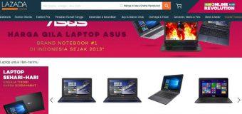 Sambut Harbolnas, ASUS Gandeng Lazada Pasarkan Varian ZenBook dan ROG